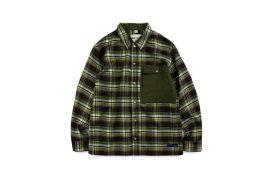 TMCAZ 19 AW Patch-Pocket GRID Shirt (1)