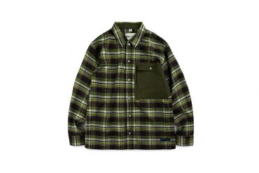 TMCAZ 19 AW Patch-Pocket GRID Shirt (1)