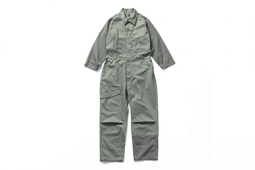B-SIDE 20 SS Coverall 20-1 Military (10)