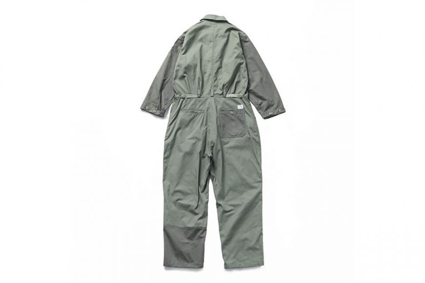 B-SIDE 20 SS Coverall 20-1 Military (11)