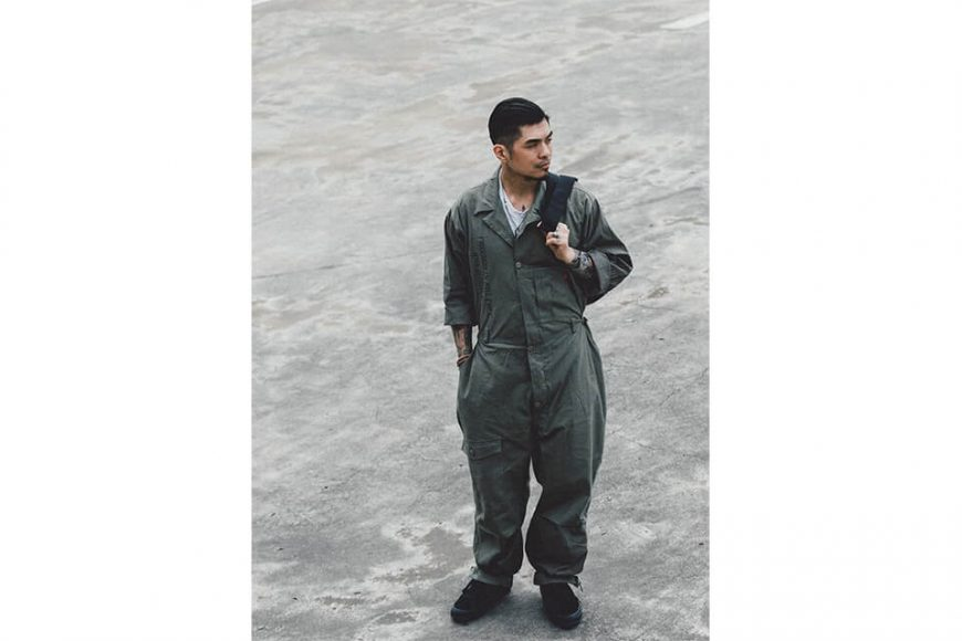 B-SIDE 20 SS Coverall 20-1 Military (6)