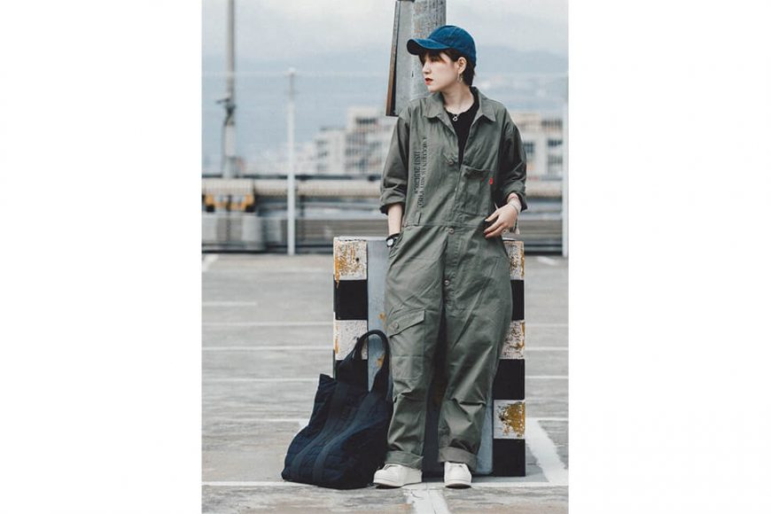 B-SIDE 20 SS Coverall 20-1 Military (8)