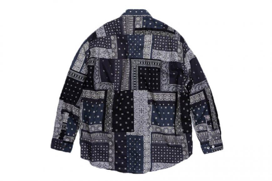 FrizmWORKS 19 FW Bandana Relax Shirt (10)