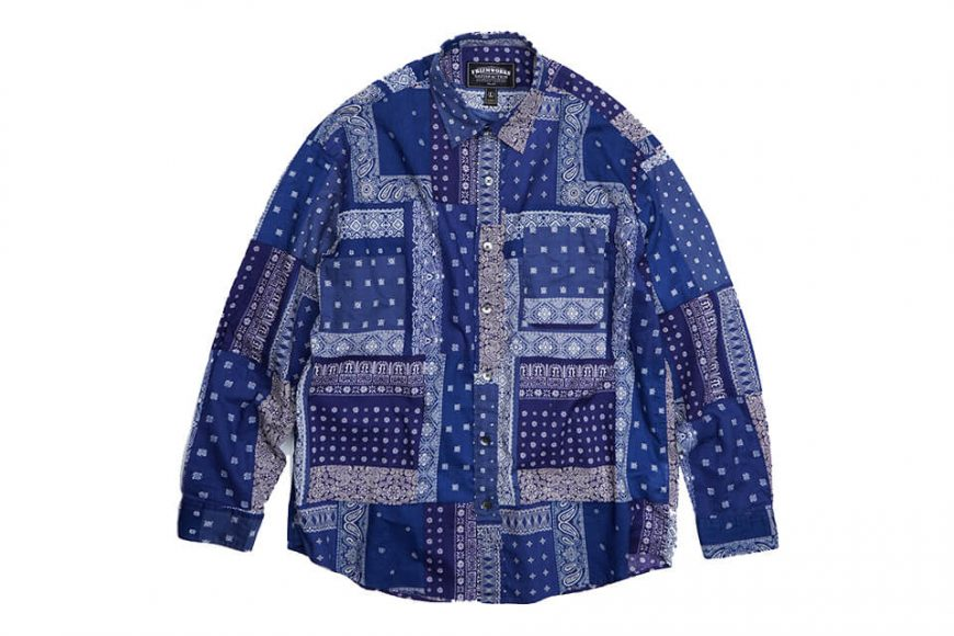 FrizmWORKS 19 FW Bandana Relax Shirt (13)