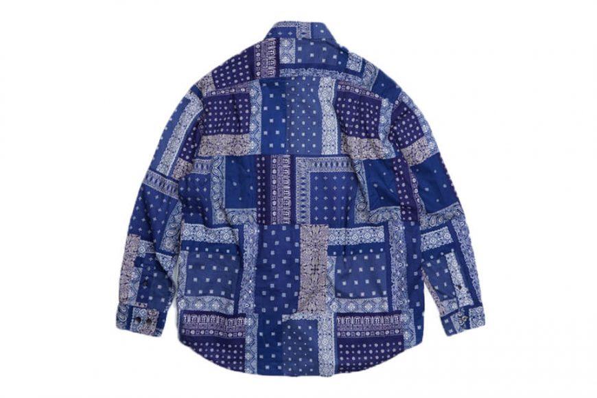 FrizmWORKS 19 FW Bandana Relax Shirt (14)