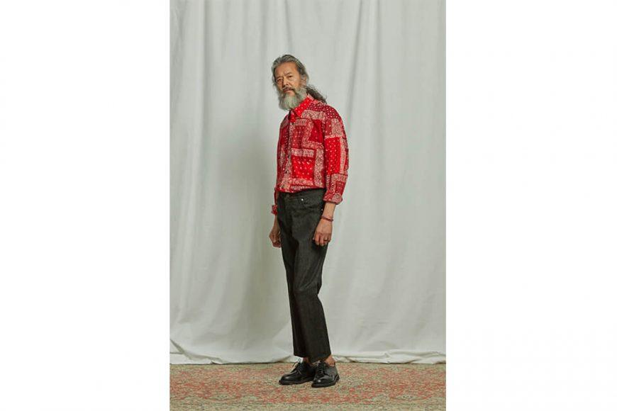 FrizmWORKS 19 FW Bandana Relax Shirt (6)