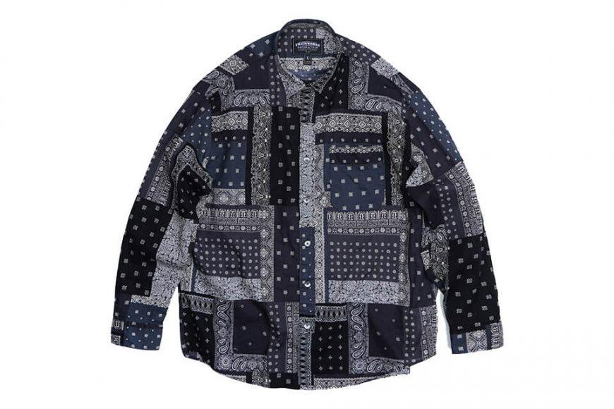 FrizmWORKS 19 FW Bandana Relax Shirt (9)