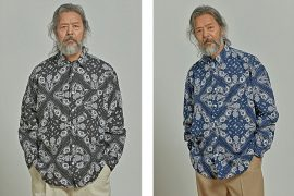 FrizmWORKS 20 SS Dobby Weave Bandana Shirt (1)