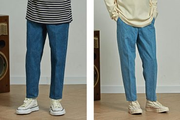 FrizmWORKS 20 SS One Tuck Denim Pants (1)