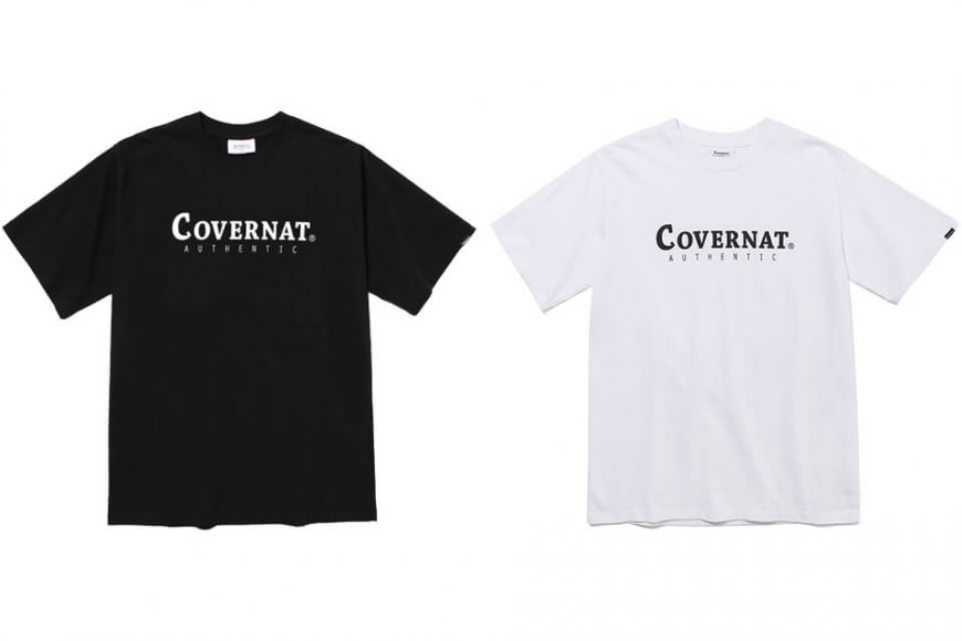 Covernat 20 SS Authentic Logo Tee (0)