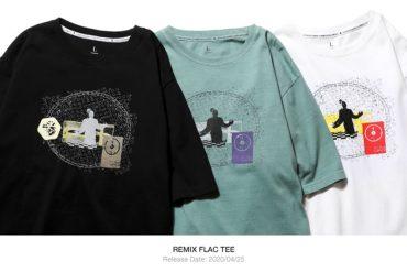 REMIX 20 SS Flac Tee (1)