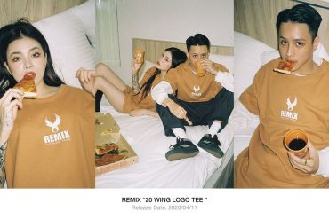REMIX 20 SS Wing Logo Tee (1)
