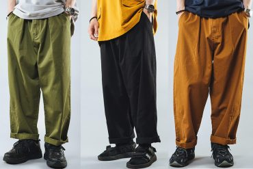 NextMobRiot 20 SS Washed Wide-Leg Trousers (0)
