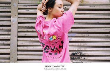 REMIX 20 SS Dance Tee (1)