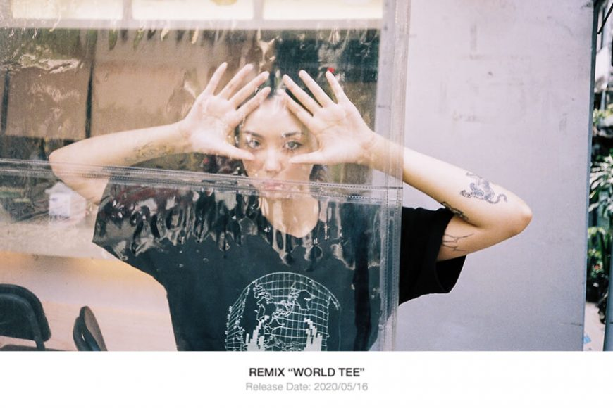 REMIX 20 SS World Tee (1)