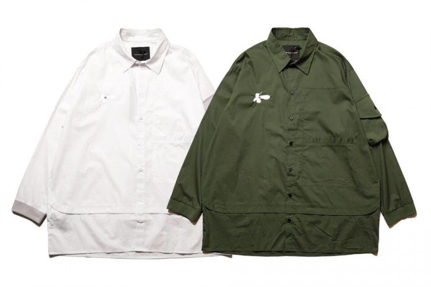 AES 20 SS 2-Tone Oversized Stitching Shirts (0)