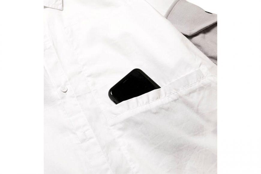 AES 20 SS 2-Tone Oversized Stitching Shirts (2)