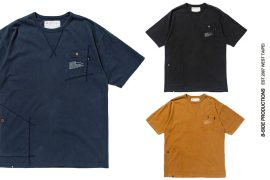 B-SIDE 20 SS Tee-20-3-Washed 2 Pockets (7)