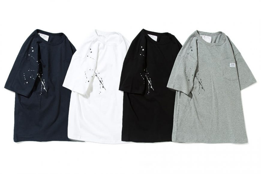 B-SIDE 20 SS Tee 20-7 Paint Splatter (5)