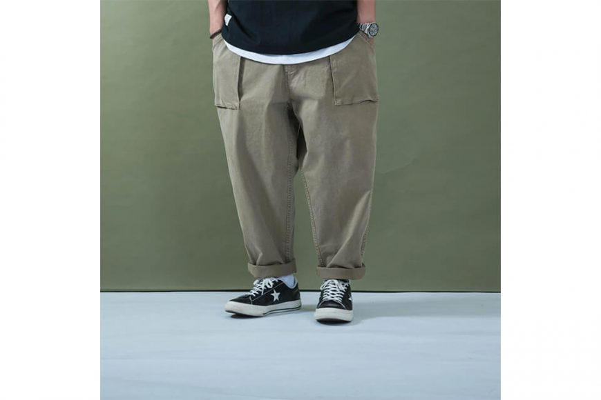 PERSEVERE 20 SS Enzyme Stone Washed Trousers (11)