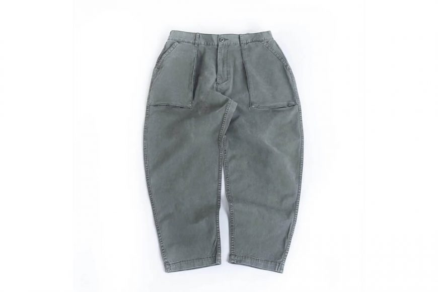 PERSEVERE 20 SS Enzyme Stone Washed Trousers (18)