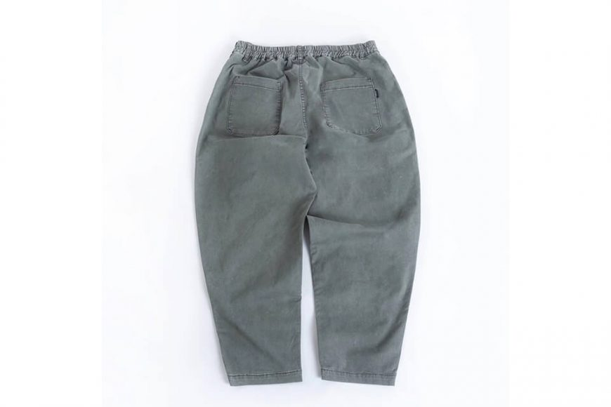 PERSEVERE 20 SS Enzyme Stone Washed Trousers (19)