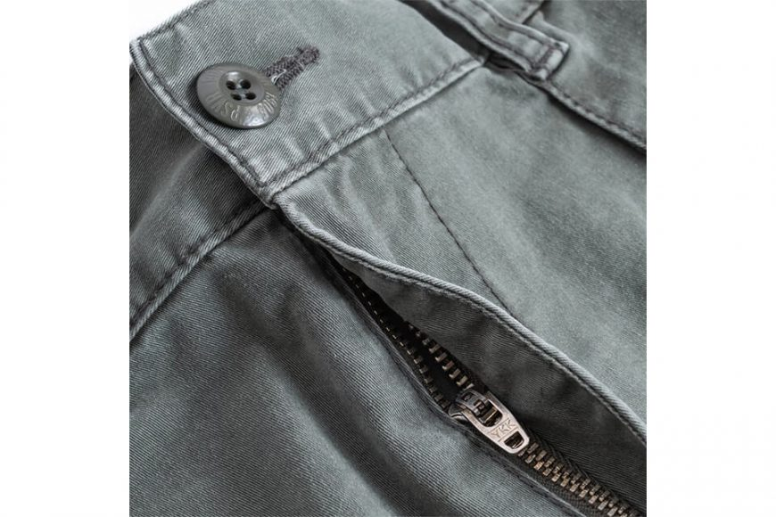 PERSEVERE 20 SS Enzyme Stone Washed Trousers (20)