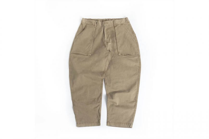 PERSEVERE 20 SS Enzyme Stone Washed Trousers (22)
