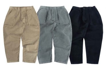 PERSEVERE 20 SS Enzyme Stone Washed Trousers (26)