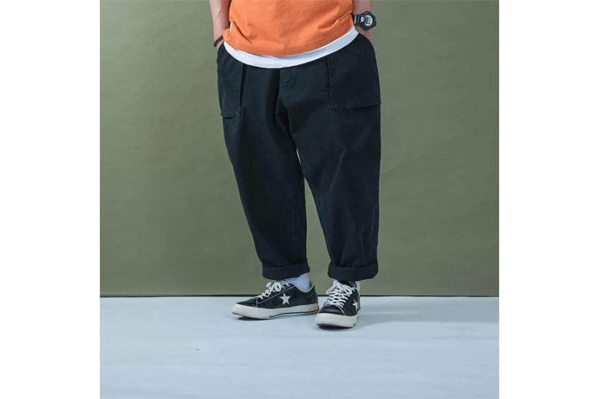PERSEVERE 20 SS Enzyme Stone Washed Trousers (3)