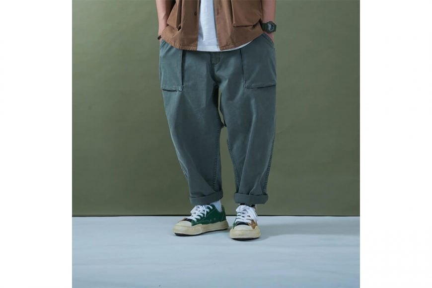 PERSEVERE 20 SS Enzyme Stone Washed Trousers (7)