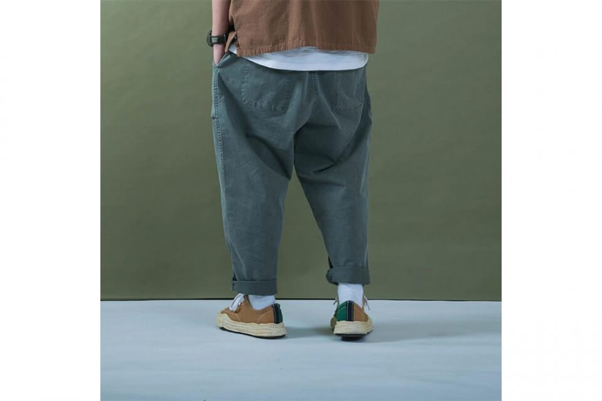 PERSEVERE 20 SS Enzyme Stone Washed Trousers (8)