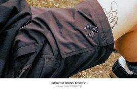 REMIX 20 SS RX Woven Shorts (1)