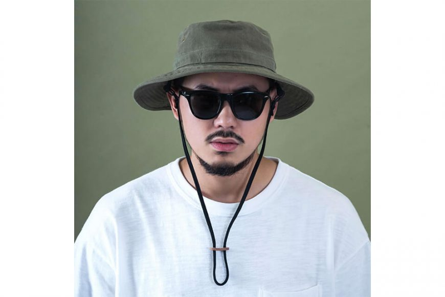 PERSEVERE 20 SS Garment Washed Bucket Hat (3)