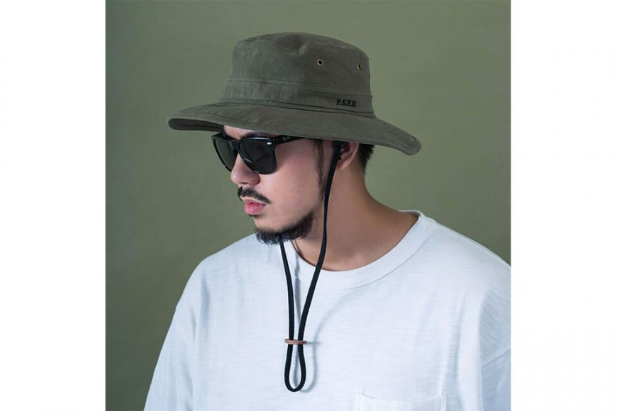PERSEVERE 20 SS Garment Washed Bucket Hat (4)