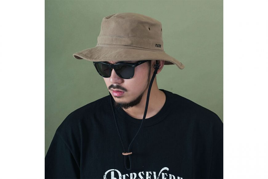 PERSEVERE 20 SS Garment Washed Bucket Hat (6)