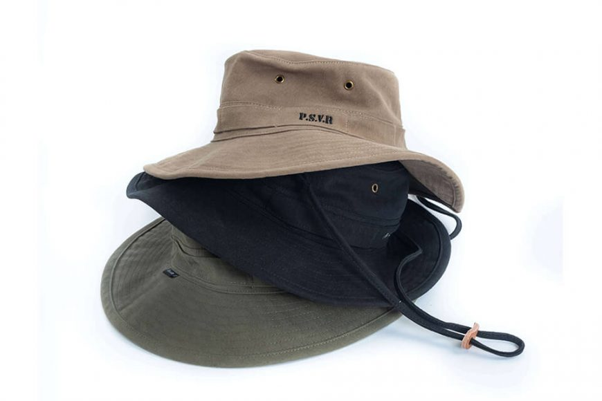 PERSEVERE 20 SS Garment Washed Bucket Hat (7)