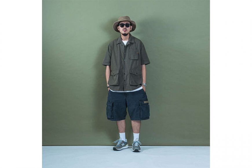 PERSEVERE 20 SS Garment Washed Shirt (1)
