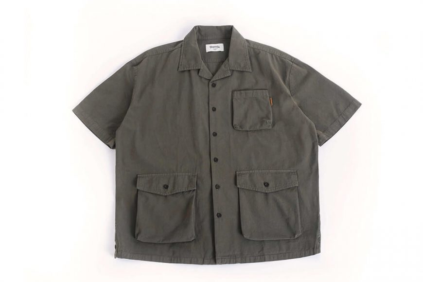 PERSEVERE 20 SS Garment Washed Shirt (10)
