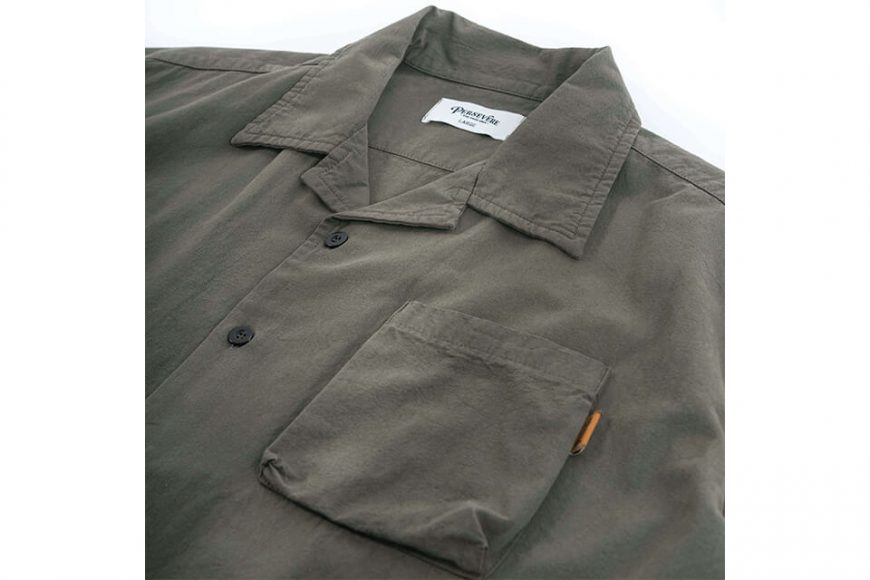 PERSEVERE 20 SS Garment Washed Shirt (12)