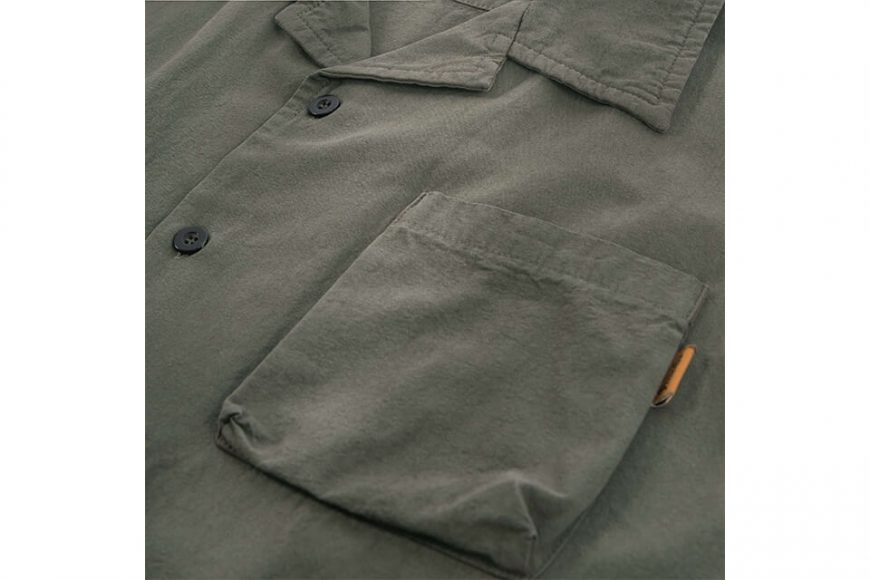 PERSEVERE 20 SS Garment Washed Shirt (13)