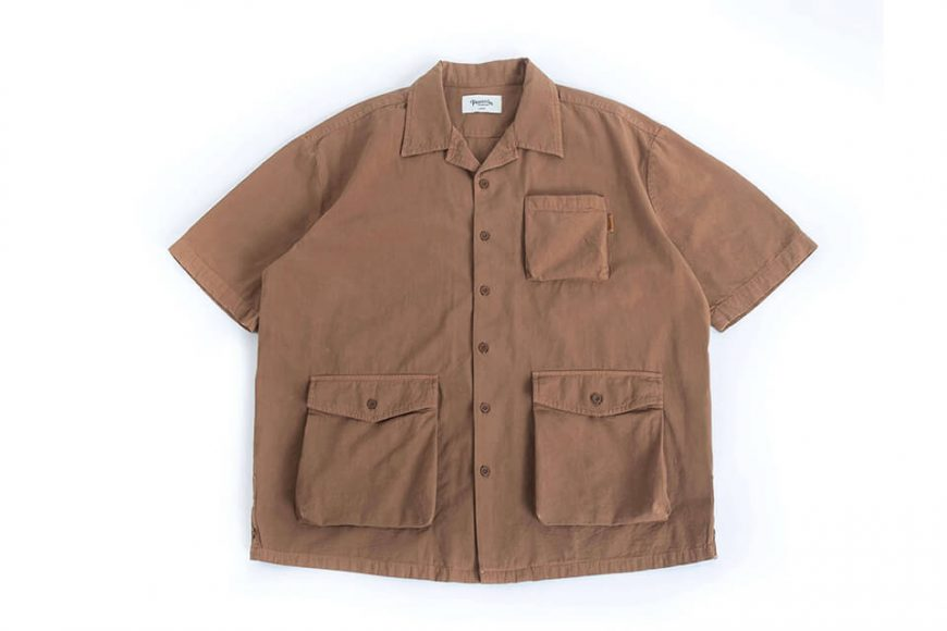 PERSEVERE 20 SS Garment Washed Shirt (16)