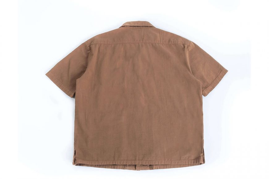 PERSEVERE 20 SS Garment Washed Shirt (17)