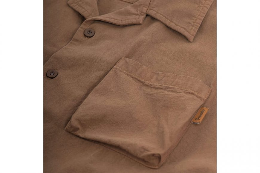 PERSEVERE 20 SS Garment Washed Shirt (18)