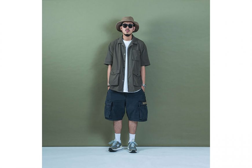 PERSEVERE 20 SS Garment Washed Shirt (2)
