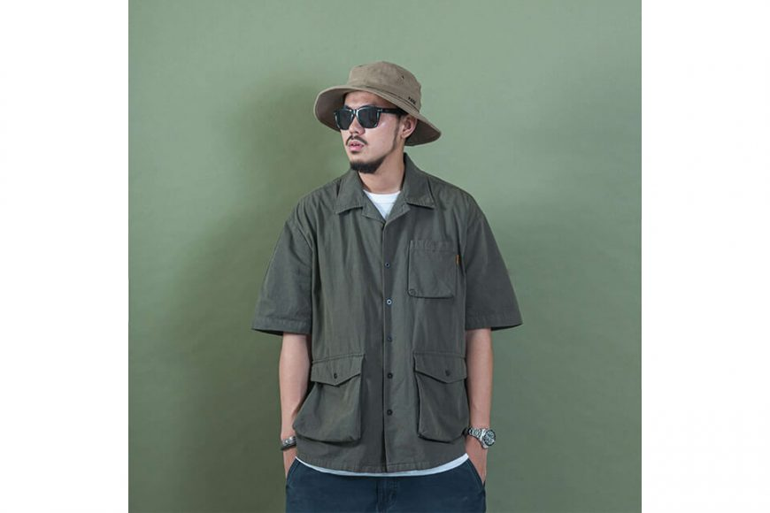 PERSEVERE 20 SS Garment Washed Shirt (3)