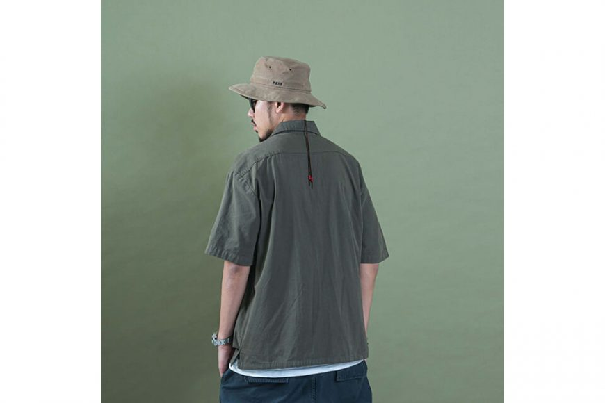 PERSEVERE 20 SS Garment Washed Shirt (4)
