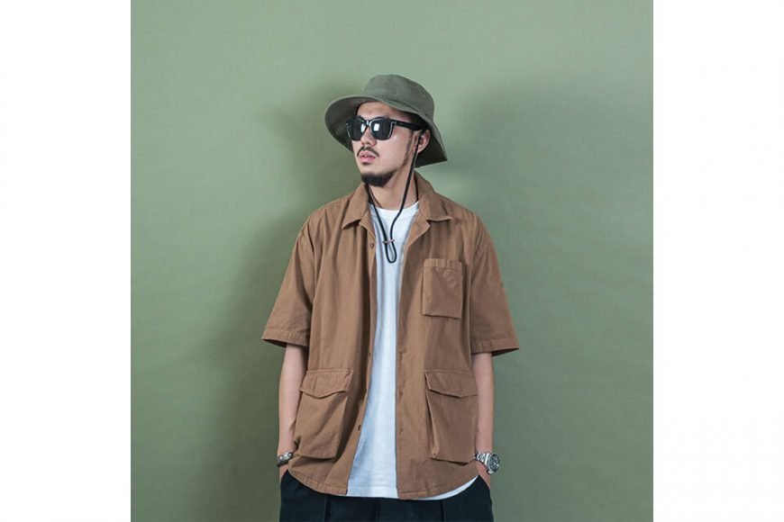PERSEVERE 20 SS Garment Washed Shirt (7)