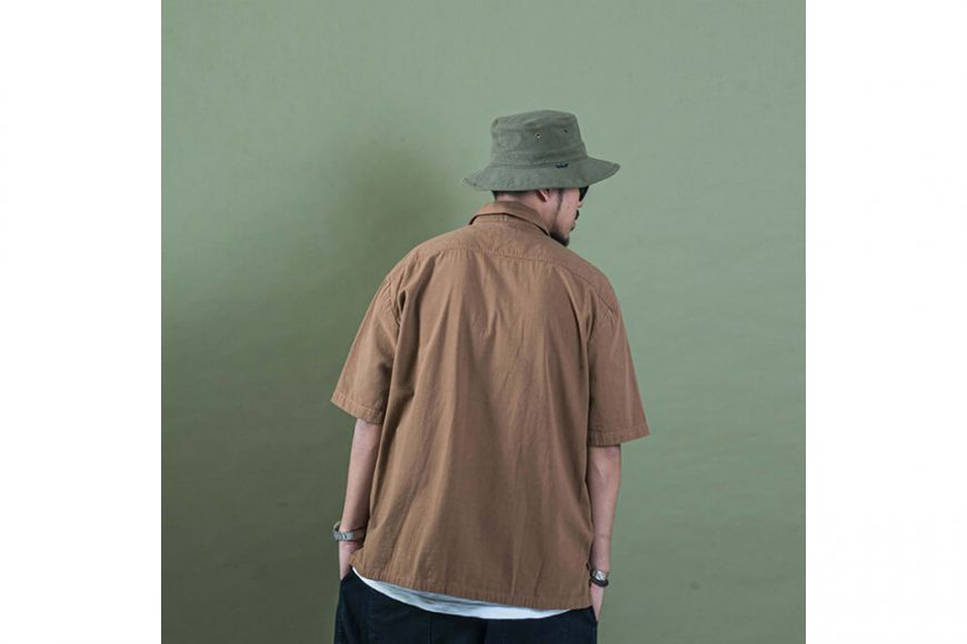 PERSEVERE 20 SS Garment Washed Shirt (8)