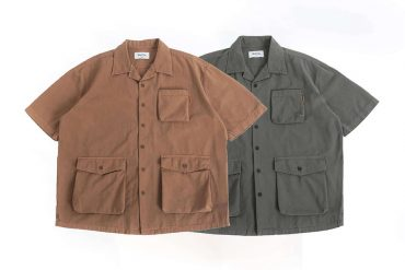 PERSEVERE 20 SS Garment Washed Shirt (9)